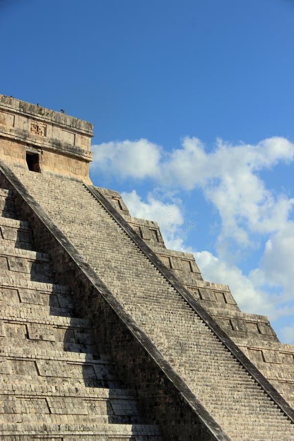 2007 захваченное castillo chichen itza Мексика одно el первого излучает мир yucatan интересов солнечного света стоковое фото