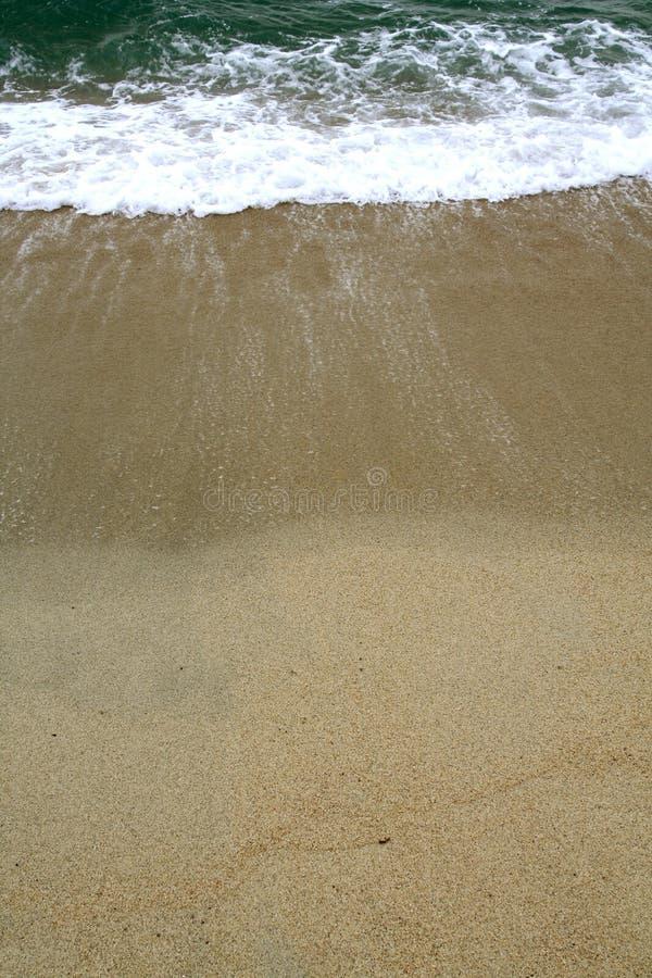 заход солнца берега стоковые изображения rf
