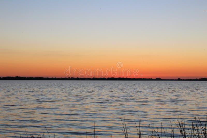 Заход солнца на держателе Дора стоковое изображение rf