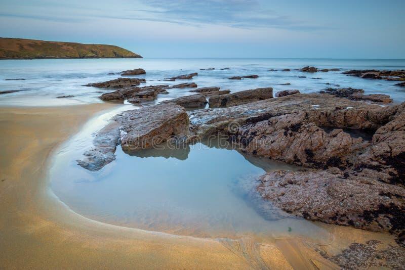 Скалистый залив стоковые фото