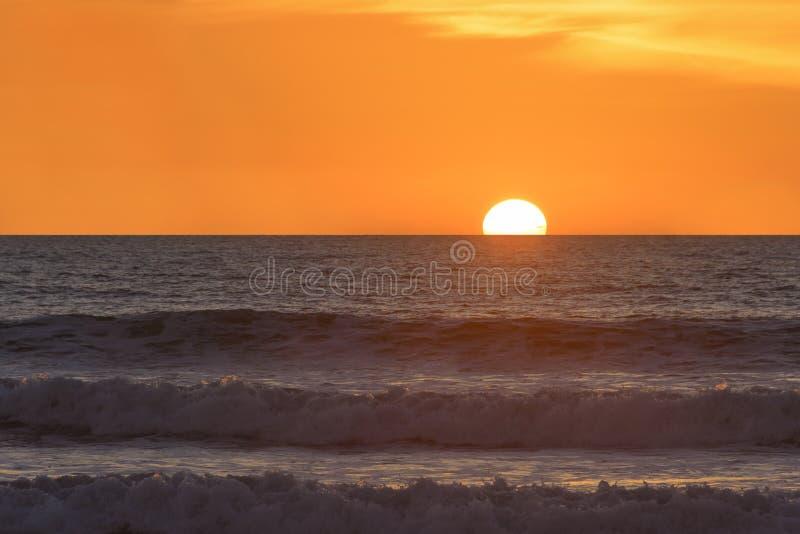 Заход солнца Сан-Диего стоковое фото