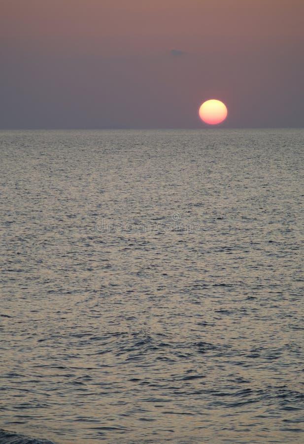 заход солнца Сардинии стоковое фото