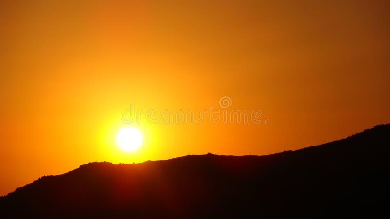 заход солнца Сардинии стоковые изображения rf