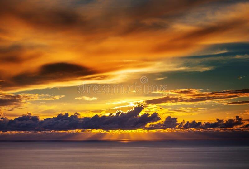 заход солнца съемки места hdr выдержки длиной обрабатываемый стоковое фото
