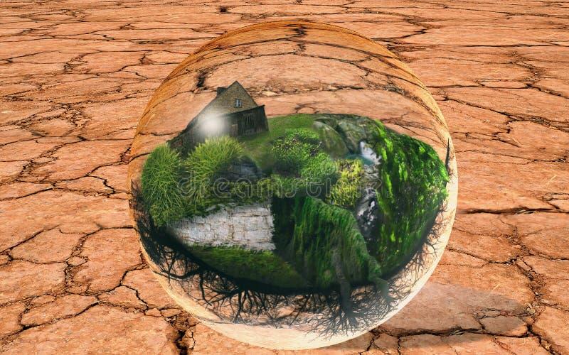 захолустье острова стоковые изображения rf