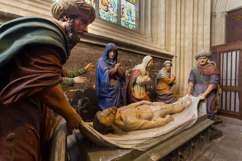 Захоронение Христоса стоковые фотографии rf
