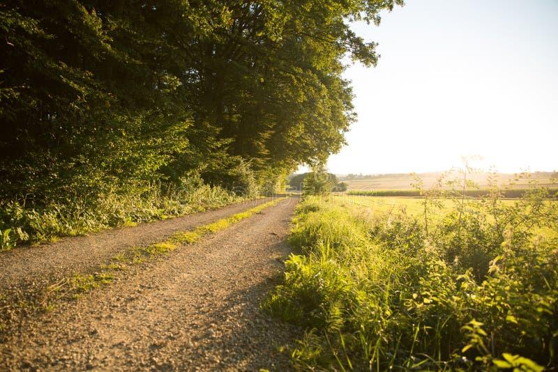 Download Заход солнца в Баварии стоковое изображение. изображение насчитывающей место - 40583545