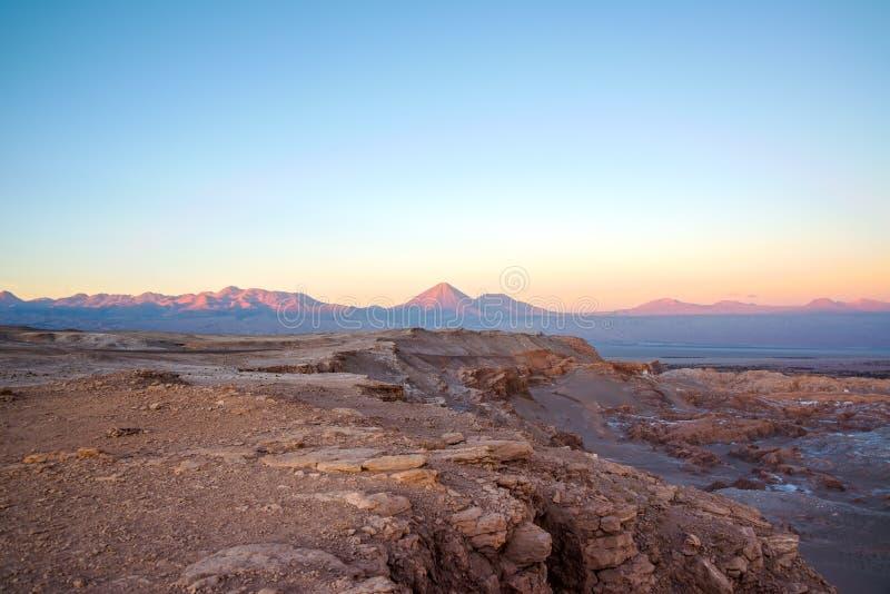 Заход солнца в San Pedro стоковая фотография rf