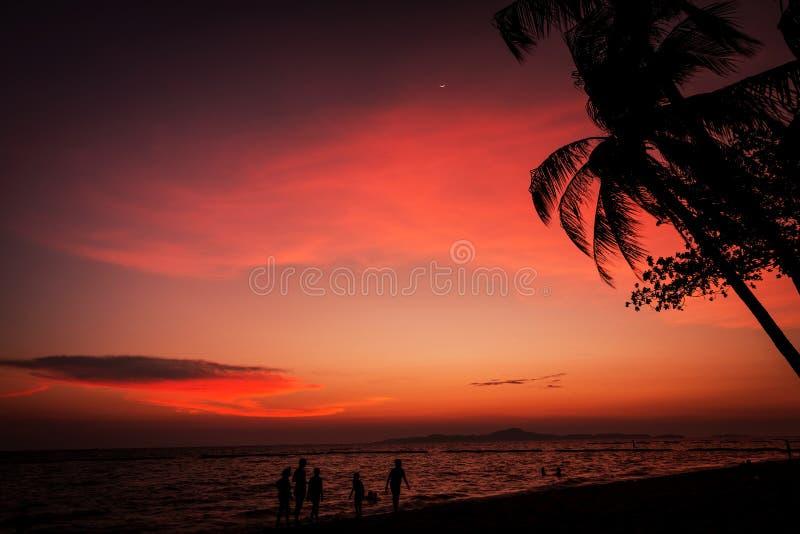 заход солнца съемки места hdr выдержки длиной обрабатываемый стоковые фото