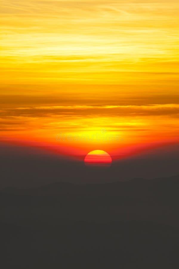 Заход солнца стоковые фото