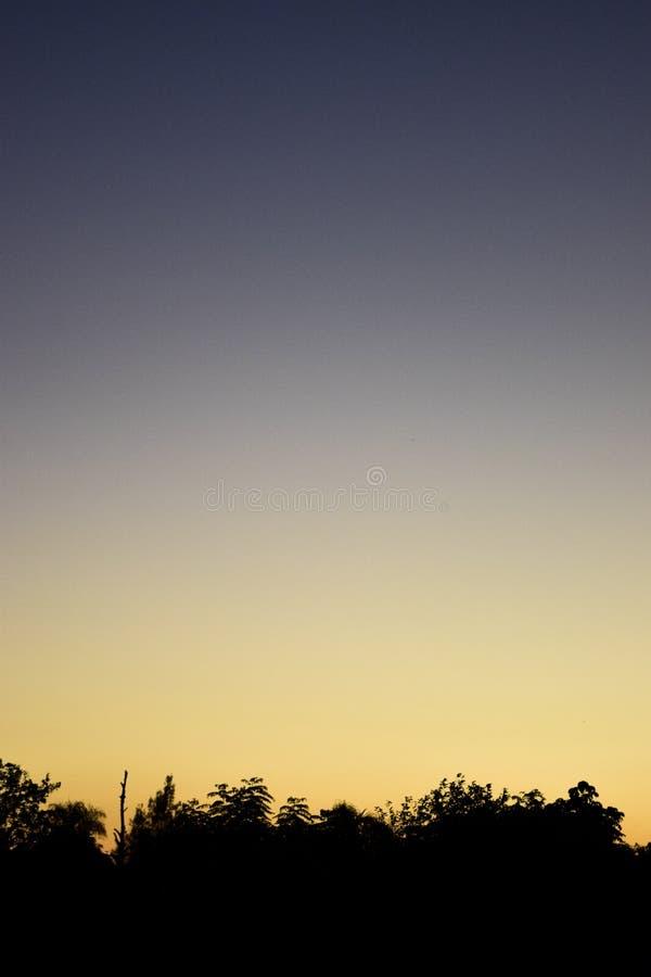 Заход солнца II стоковое изображение rf
