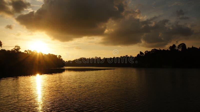 Заходы солнца - резервуар 01 стоковое фото rf