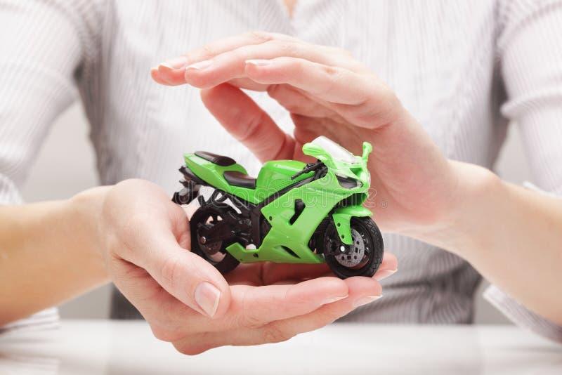 Защита велосипеда (концепция) стоковые изображения