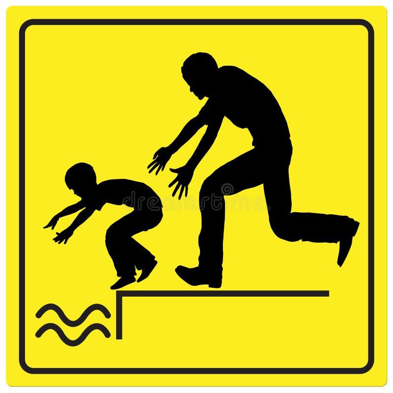 Защитите вашего ребенка иллюстрация вектора