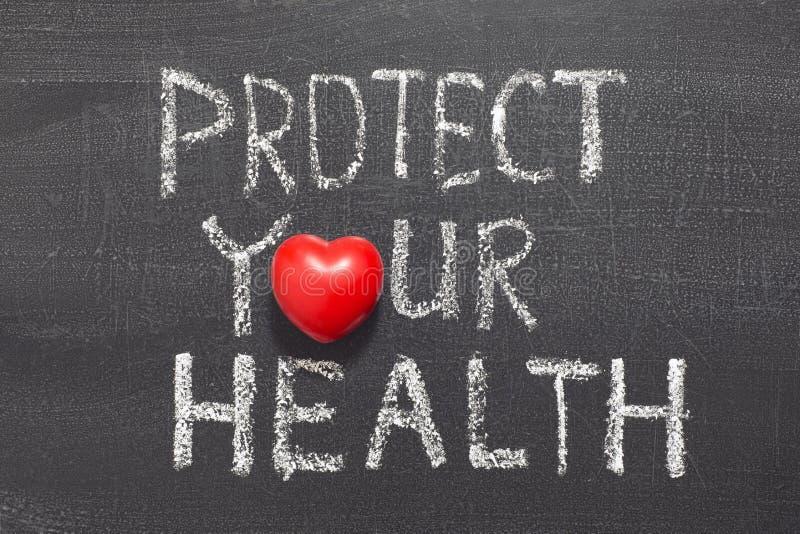 Защитите ваше здоровье стоковые фотографии rf