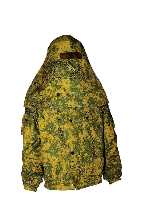 Защитная одежда расцветки камуфлирования стоковая фотография rf