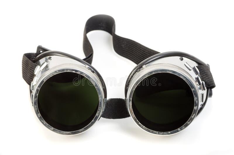 Защитные стекла сварщика газа стоковые фотографии rf