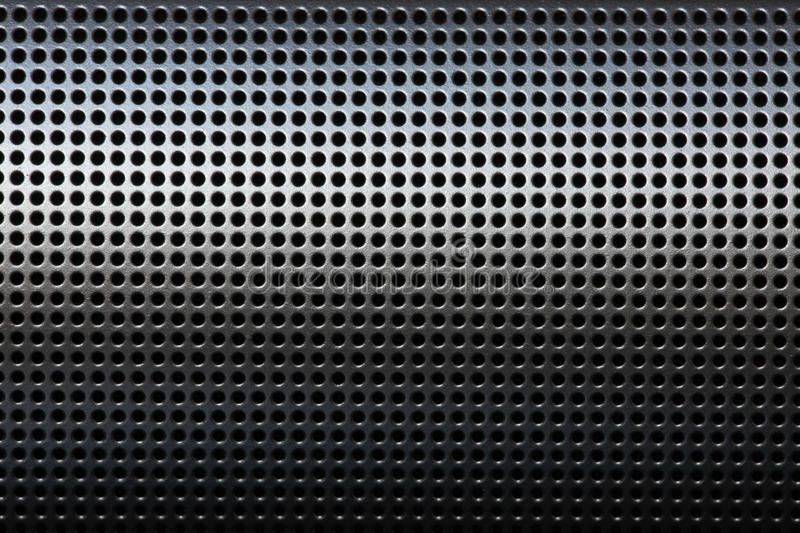 Защитный чехол решетки точности черный mertal стоковое фото