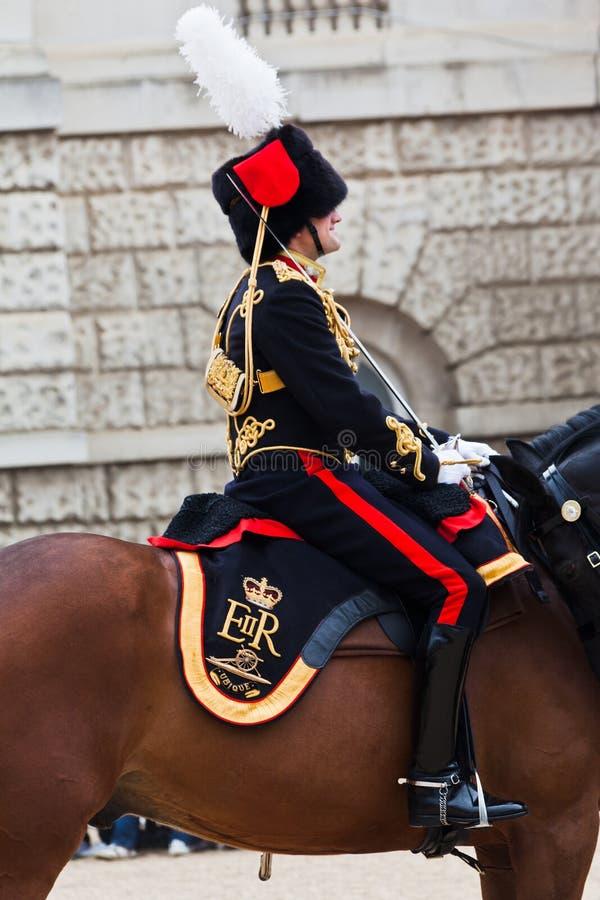 защищает парад london лошади стоковое фото