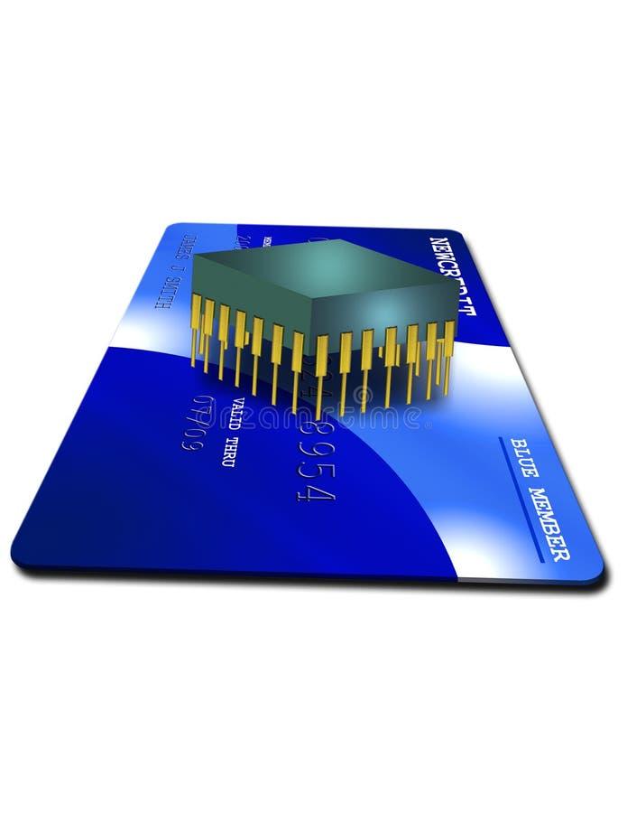 защищенное электронное кредита бесплатная иллюстрация