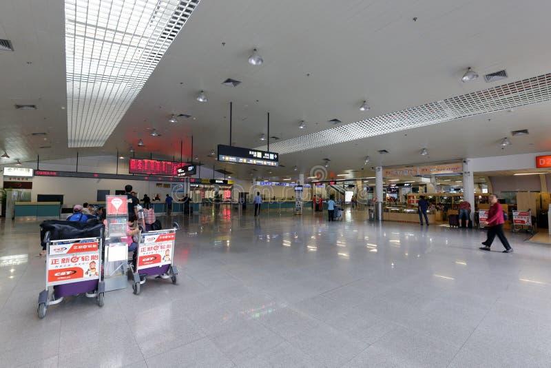 Зала обслуживания паромного терминала xiamen-jinmen стоковое изображение rf