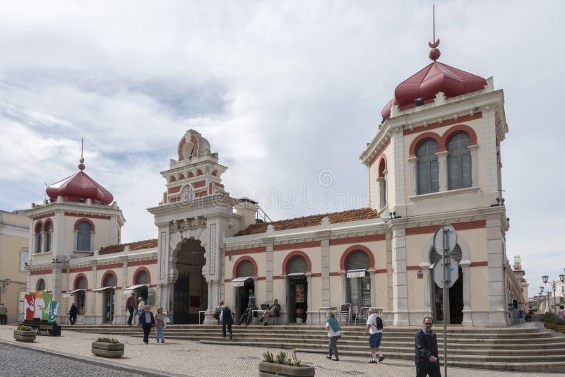 Зала рынка в Loule стоковое изображение