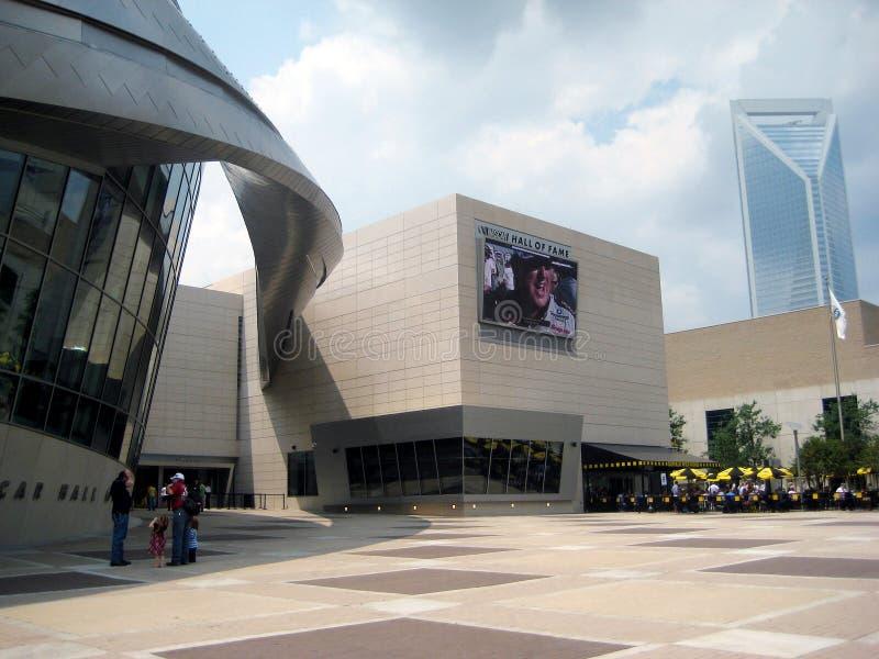 зала славы nascar стоковое изображение