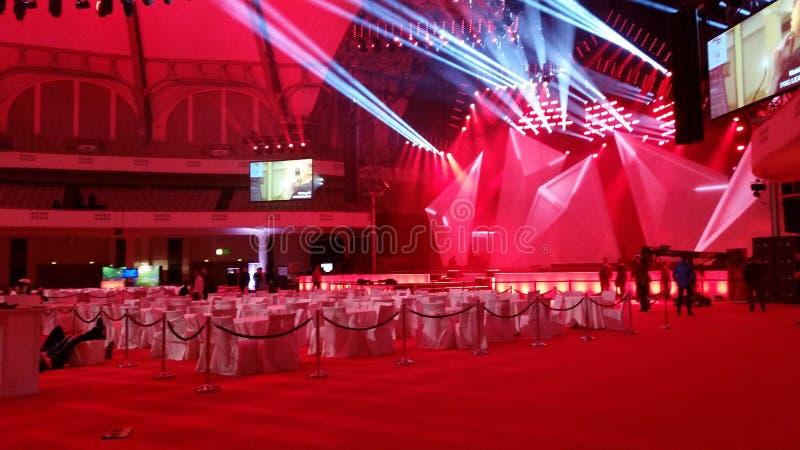 Зала Франкфурт Messe события стоковое изображение