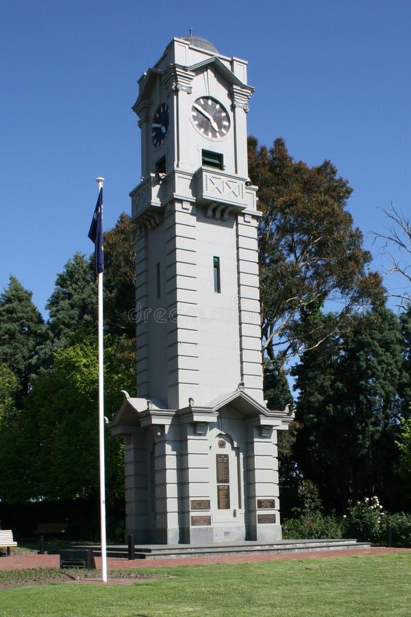 зала часов города Австралии обнаружила местонахождение городок башни perth западный стоковое фото