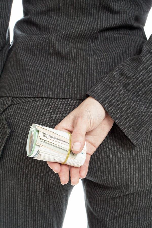 за деньгами стоковое изображение rf