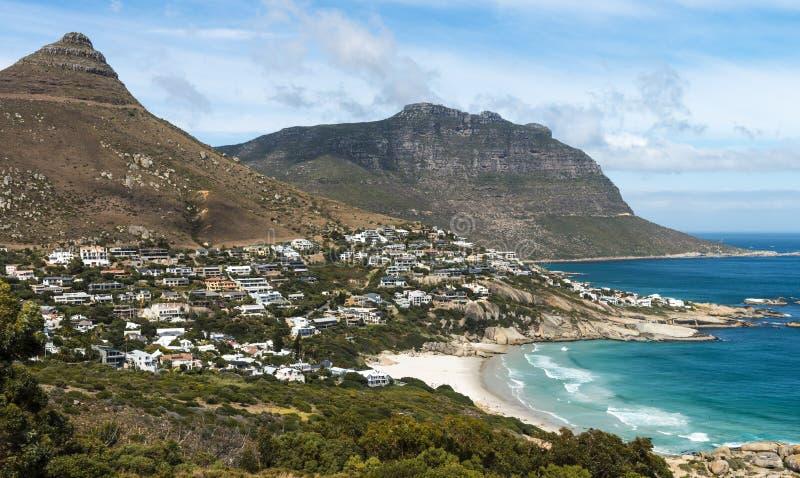 Залив лагерей (Кейптаун, Южная Африка) стоковая фотография rf
