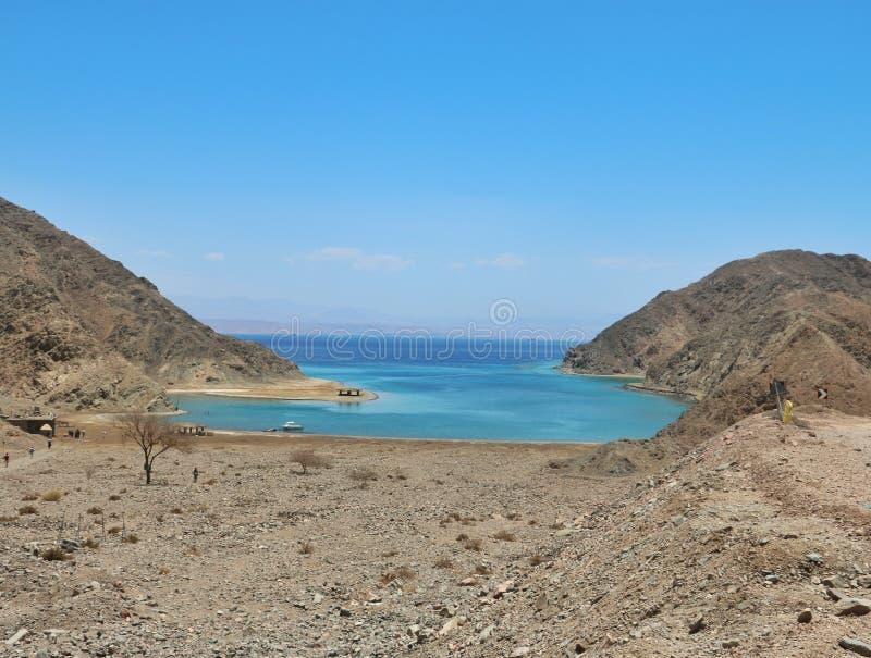 Залив Египет фьорда стоковые изображения rf