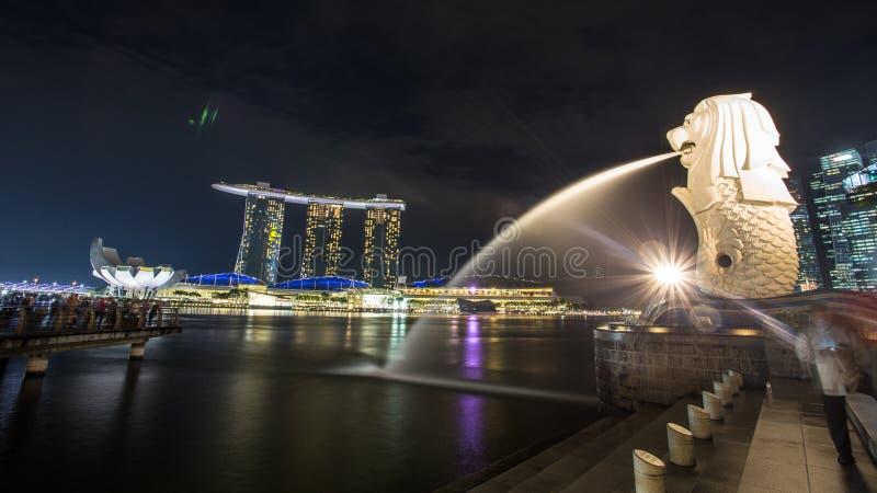 Залив Марины в Сингапуре стоковое изображение