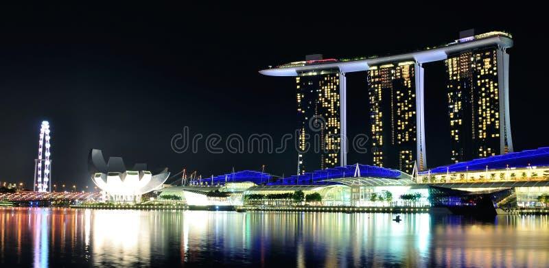 Залив Марины зашкурит Сингапур стоковые фотографии rf