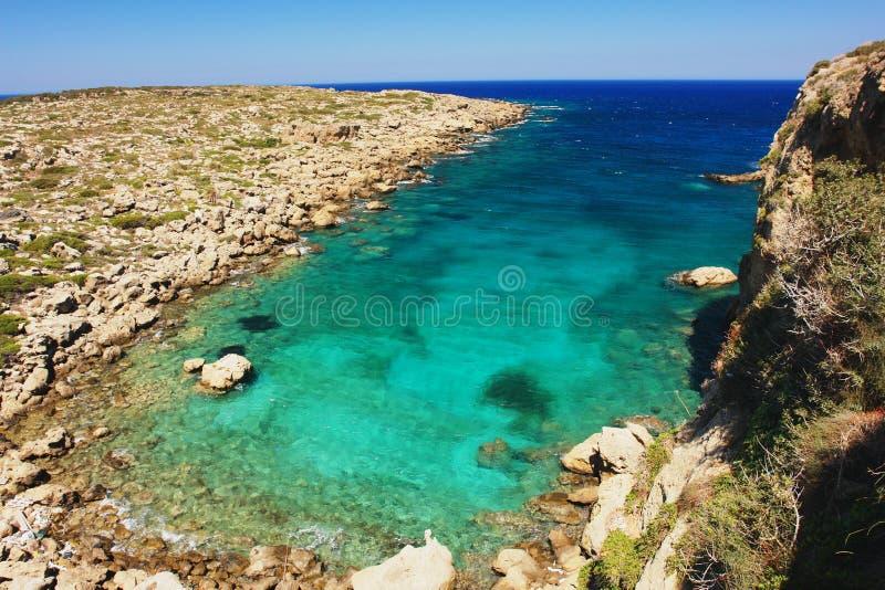 Залив на Крите стоковые изображения rf