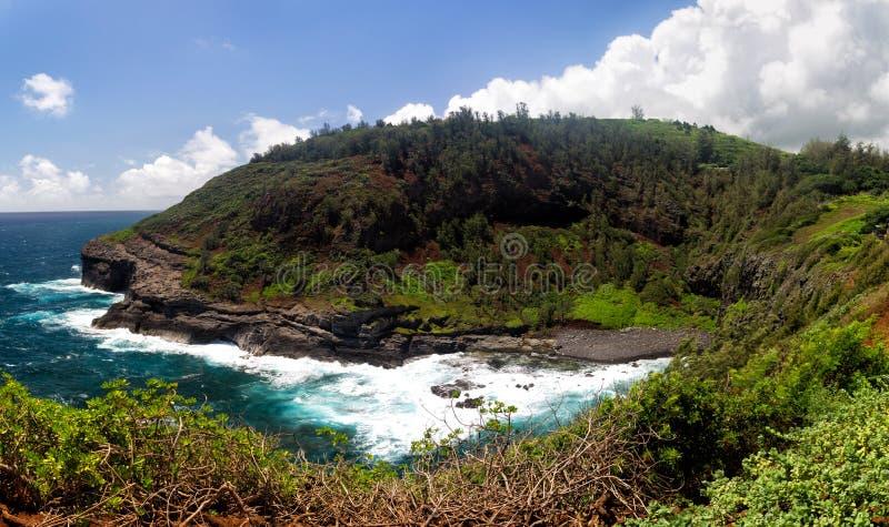 Залив на этап Kilauea стоковое фото