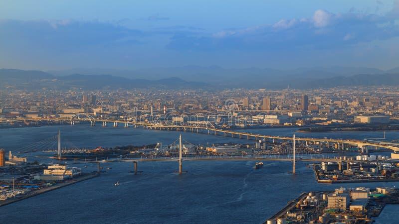 Залив Осака стоковые фотографии rf