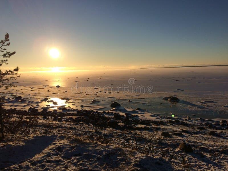 залив Финляндии стоковое изображение rf