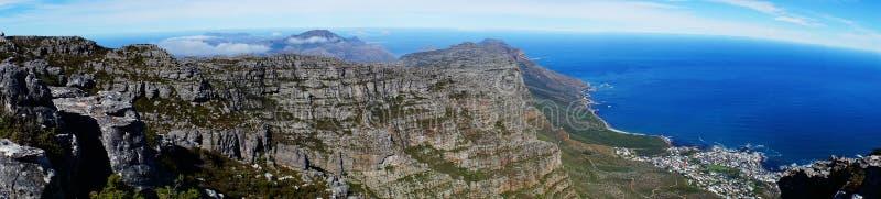 Залив Южная Африка таблицы стоковое изображение rf
