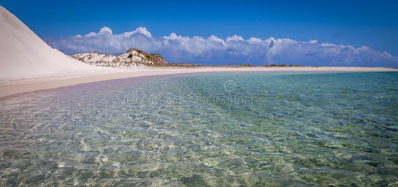 Залив Gnaraloo стоковое изображение