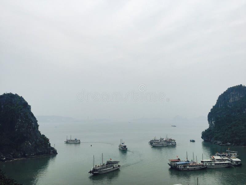 Залив Halong стоковые изображения