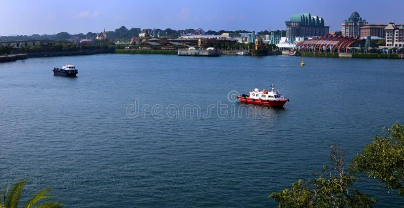 Залив Harbourfront на Сингапуре стоковые фото