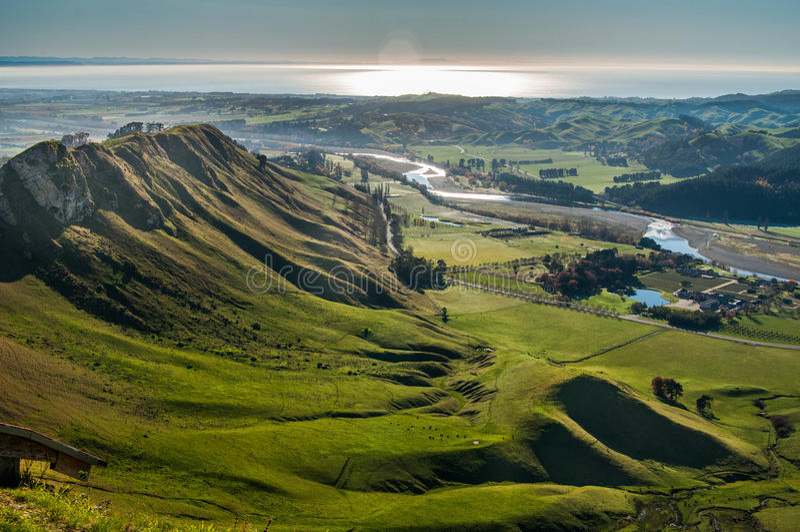 Залив Hawke Новая Зеландия стоковая фотография