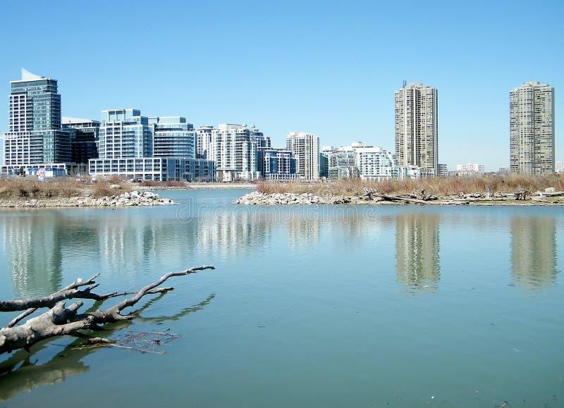 Залив 2010 Humber озера Торонто стоковая фотография
