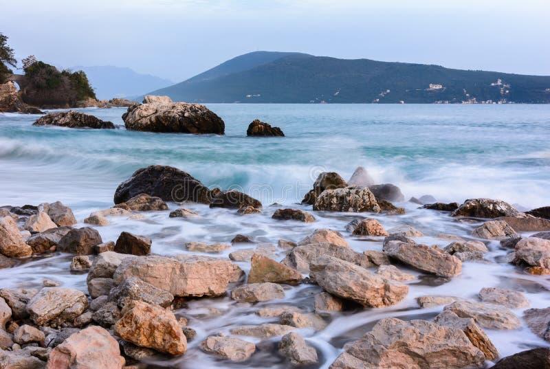 Залив Kotor стоковое фото