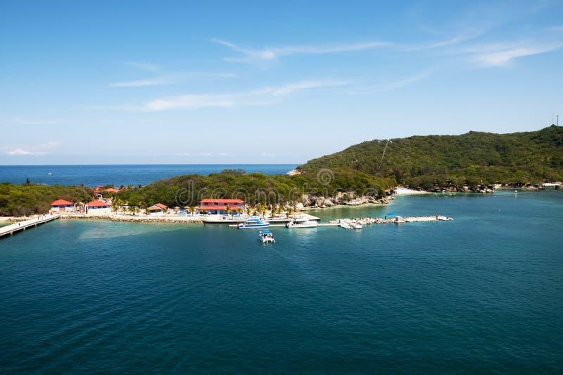 Залив Labadee Гаити стоковое фото