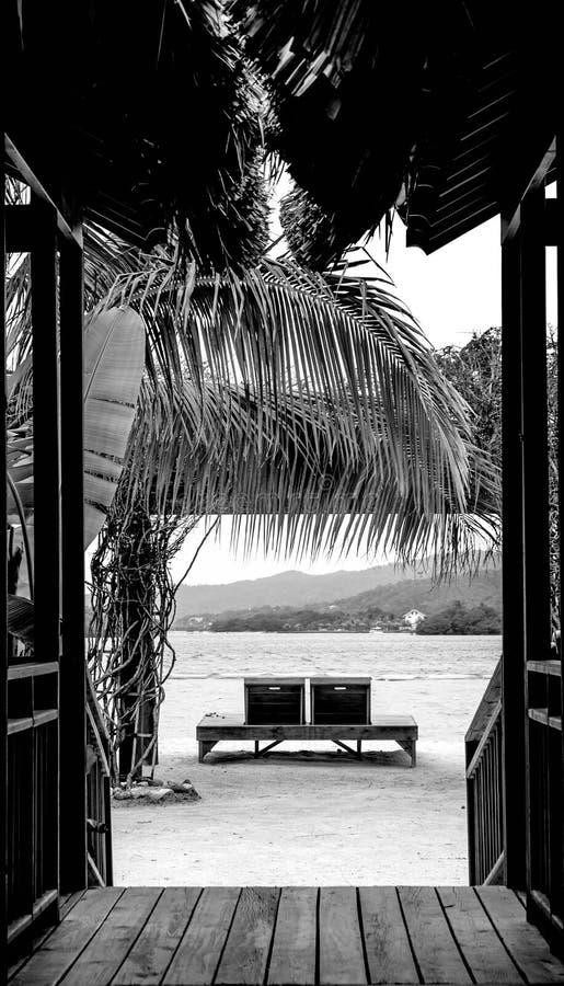 залив montego стоковая фотография