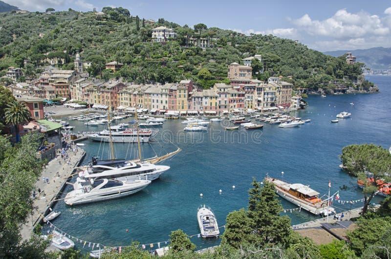 Залив Portofino стоковая фотография