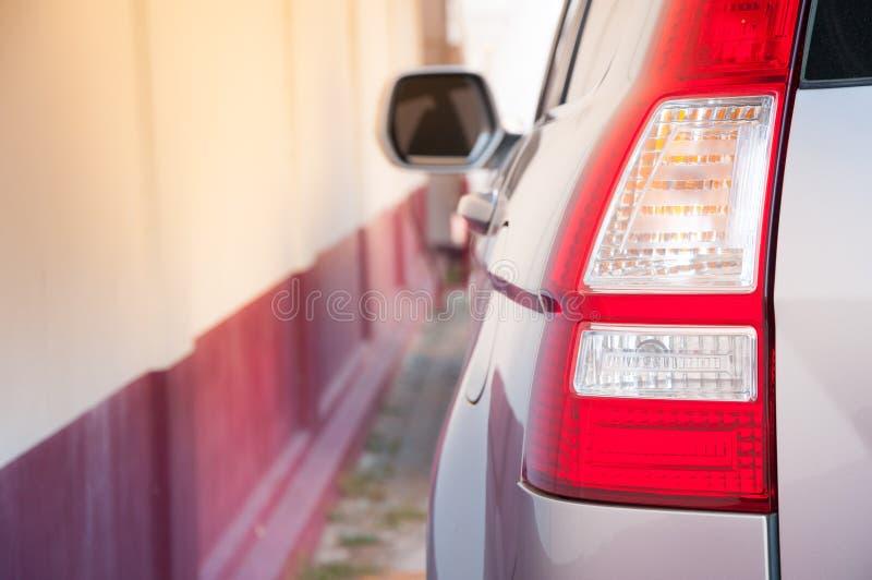 задий автомобиля светлая самомоднейшая стоковая фотография