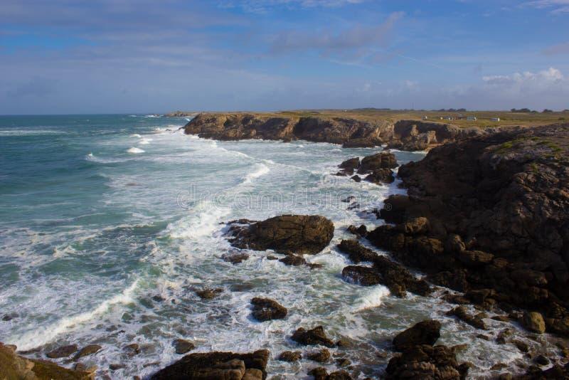 За морем стоковое изображение